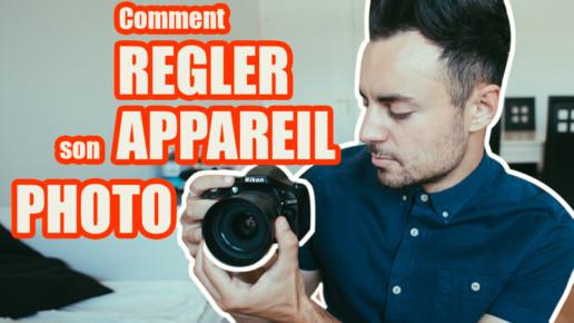 Comment régler appareil photo reflex hybride